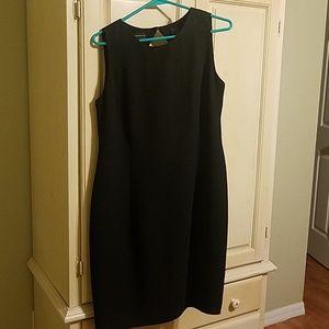 Liz Claiborne little black dress size 14